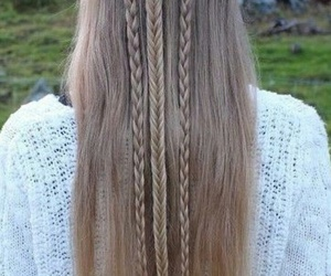 braids, elf, and hair image