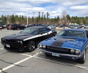 Challenger, speed, and oldtimer image