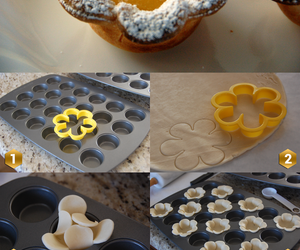 diy, flower, and dough image
