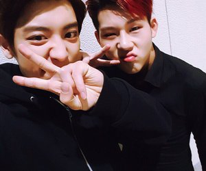 exo, chanyeol, and jooheon image