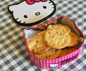 hello kitty and food image