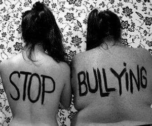 bullying, stop, and fat image