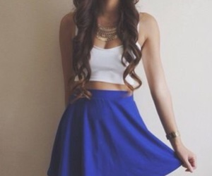 skirt and summer outfit image