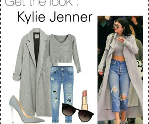 get the look, grey, and outfit image