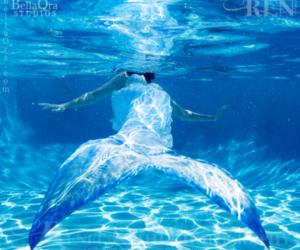 mermaid, tails, and underwater image