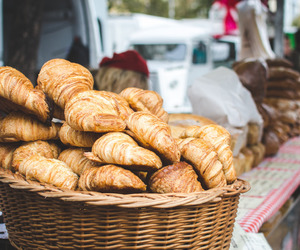 croissant, food, and bakery image