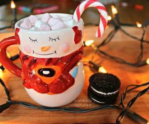 christmas, winter, and oreo image
