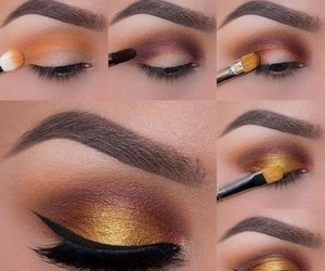 makeup, eyeshadow, and tutorial image