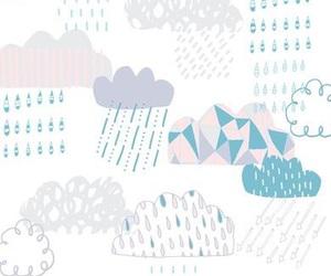 pattern and rain image
