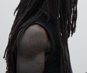 black, black man, and dark skin image