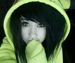 emo, pikachu, and scene image