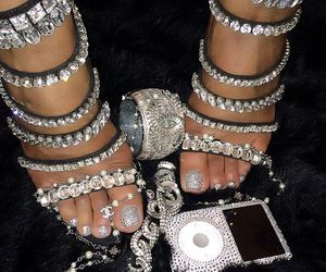 diamond, shoes, and heels image