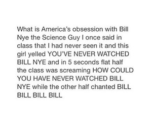 bill nye the science guy and funny image