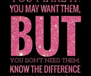 inspirational, pink, and sparkle image