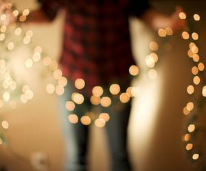 light, christmas, and bokeh image