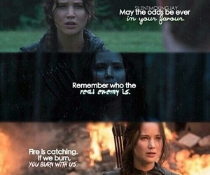 catching fire, quote, and katniss image