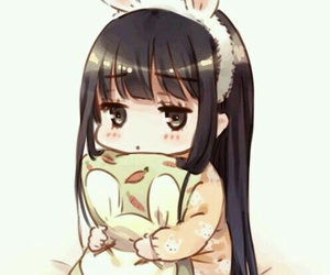 anime, kawaii, and chibi image