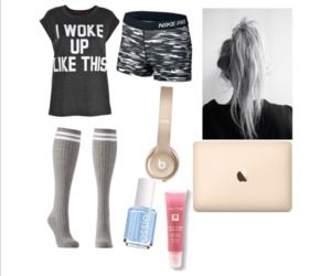 clothes, fashion, and lazy day image