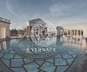 Versace and pool image