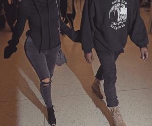 classic, couple, and kardashian image