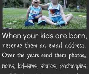 kids, email, and ideas image