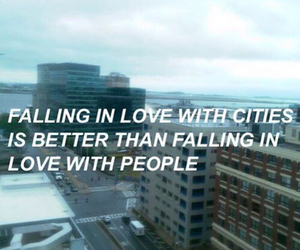 love, city, and quotes image