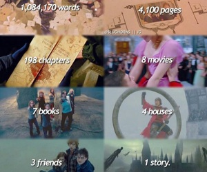 harry potter, harrypotter, and books image