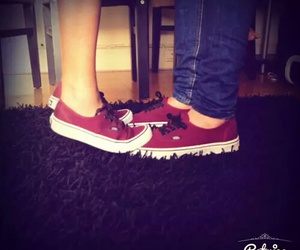 couple, love, and vans image