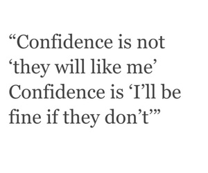 confidence, cool, and quotes image