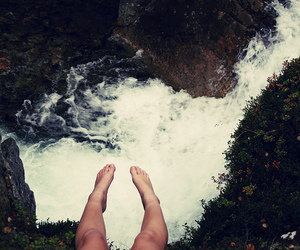legs, water, and feet image