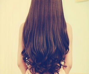 hair, hairstyle, and long image
