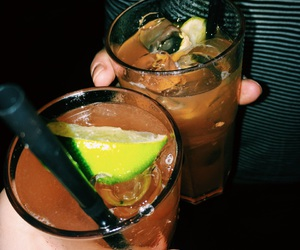 alcohol, drinks, and lime image
