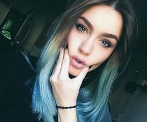 hair, lips, and nails image