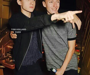 tom holland, tomholland, and tomhollandfans image