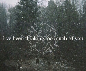 forest, iloveyou, and sad image