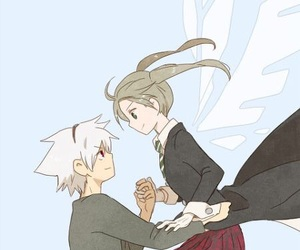 anime, soul eater, and couple image
