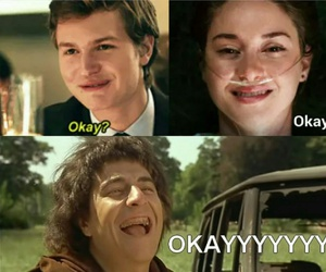 augustus, funny, and the fault in our stars image