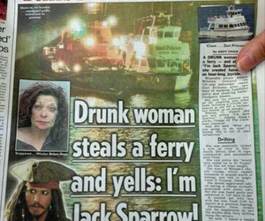 funny, drunk, and jack sparrow image