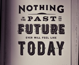 future, past, and today image