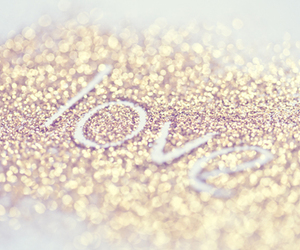 love, glitter, and quotes image