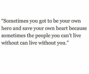 quotes, hero, and heart image