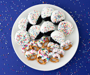 sprinkles, chocolate, and Cookies image