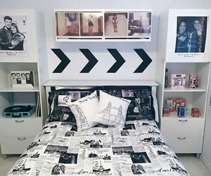 room, one direction, and bedroom image