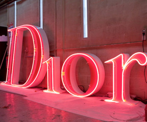 dior, pink, and light image