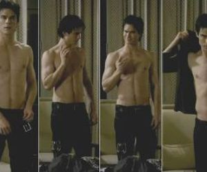 boy, ian somerhalder, and the vampire diaries image