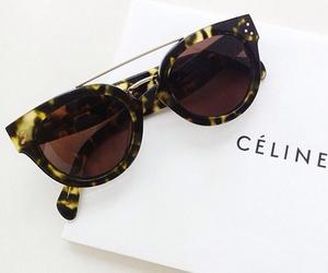 celine, fashion, and sunglasses image