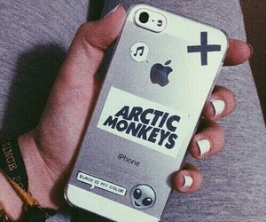 arctic monkeys, iphone, and grunge image