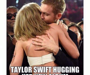 Taylor Swift, calvin harris, and funny image