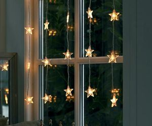 stars, light, and christmas image