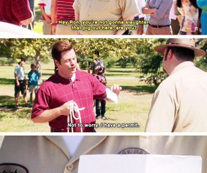 funny, quote, and parks and recreation image